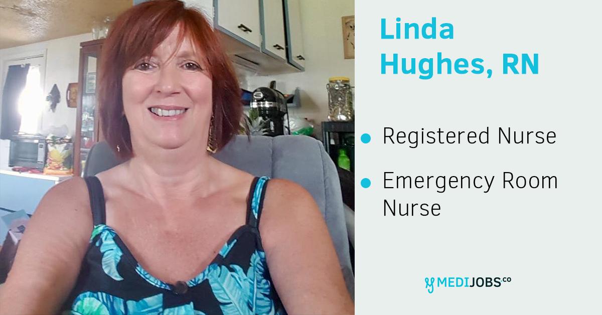 Linda RN nurse. MEDIjobs