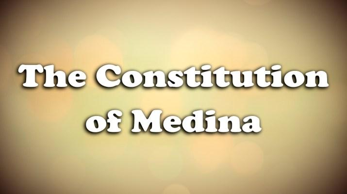 Constitution of Medina