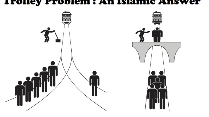 trolley problem an Islamic Answer