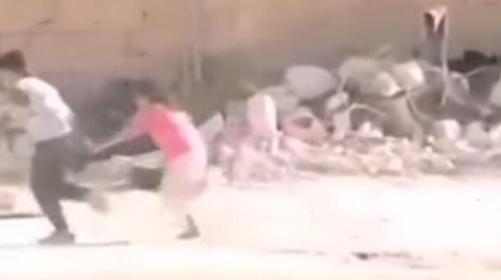 syria-hero-boy-video-revealed-as-fake