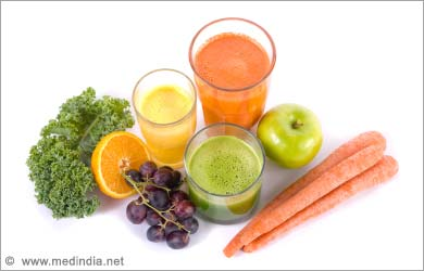 Healthy Way to Lose Weight: Fruits Juices