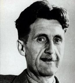 George Orwell flat earth quotes
