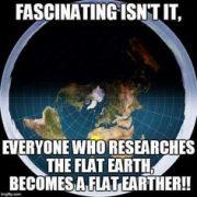 Truthful memes flat earth