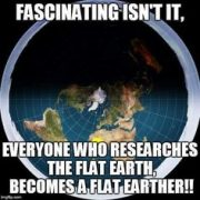Truthful memes flat earth