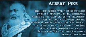 Albert pike world war 3 image