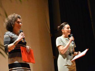 Sabrina Bazzanti durante una precedente edizione del Premio Nestore