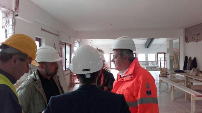 Sopralluogo del Sindaco Todini presso i cantieri di Spina e Compignano