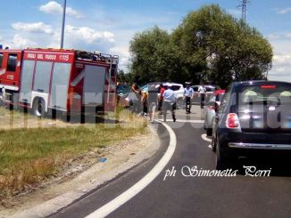 Incidente a Todi, due feriti, Panda contro Suv Kuga