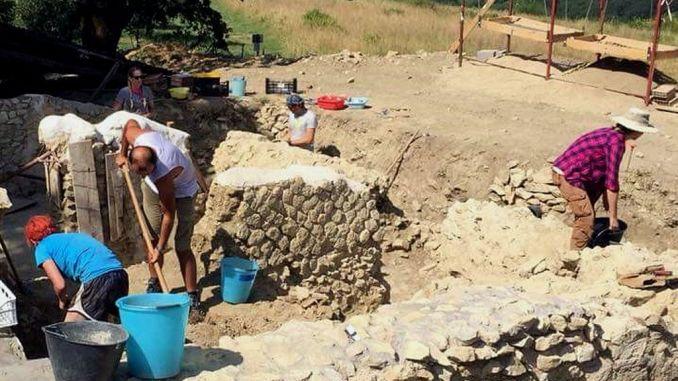 Arrivati archeologi americani agli scavi archeologici di Lugnano in Teverina
