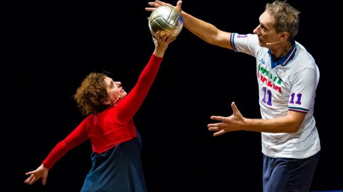 Andrea Zorzi a Marsciano il 9 gennaio,La leggenda del pallavolista volante