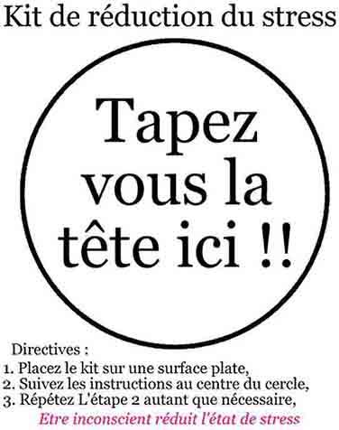 kit de reduction du stress - à imprimer ^^