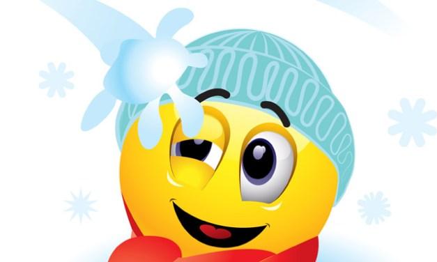 Se un bambino fosse senza giacca mentre nevica?