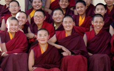 Le monache buddiste vogliono la parità di genere
