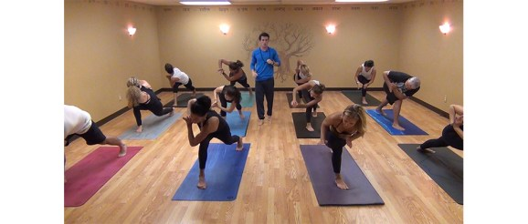 Alex Video Banner - Take a complete yoga class with Alex Schimmel