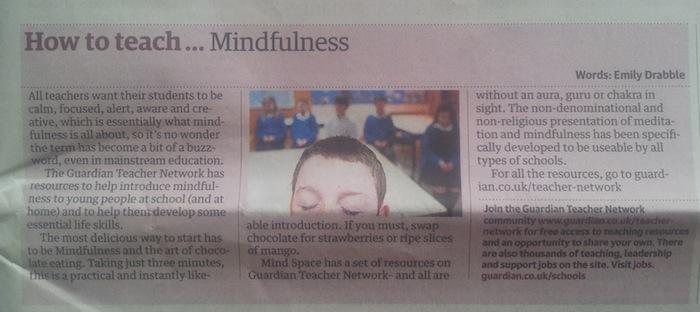 Meditation in Schools