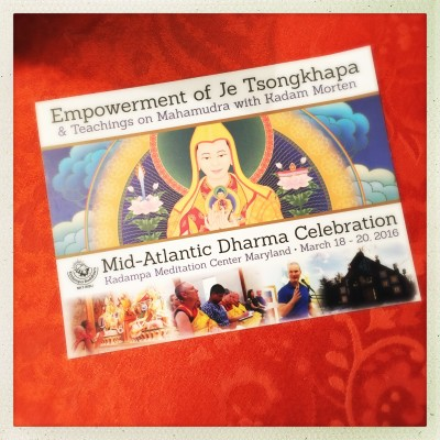 Mid-Atlantic Dharma Celebration 2016
