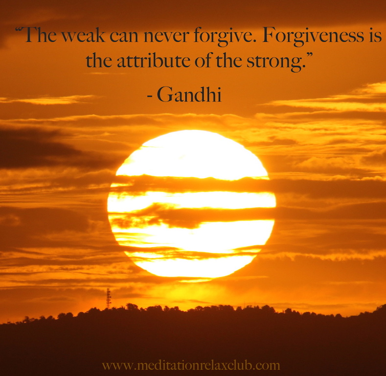 forgive and forget, self-improvement, giving forgiveness, be a better person, power of positive thinking