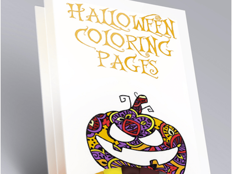 Halloween Coloring Pages App: Mandala Art in Seasonal Theme