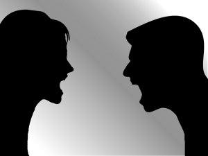 arguing, good listener