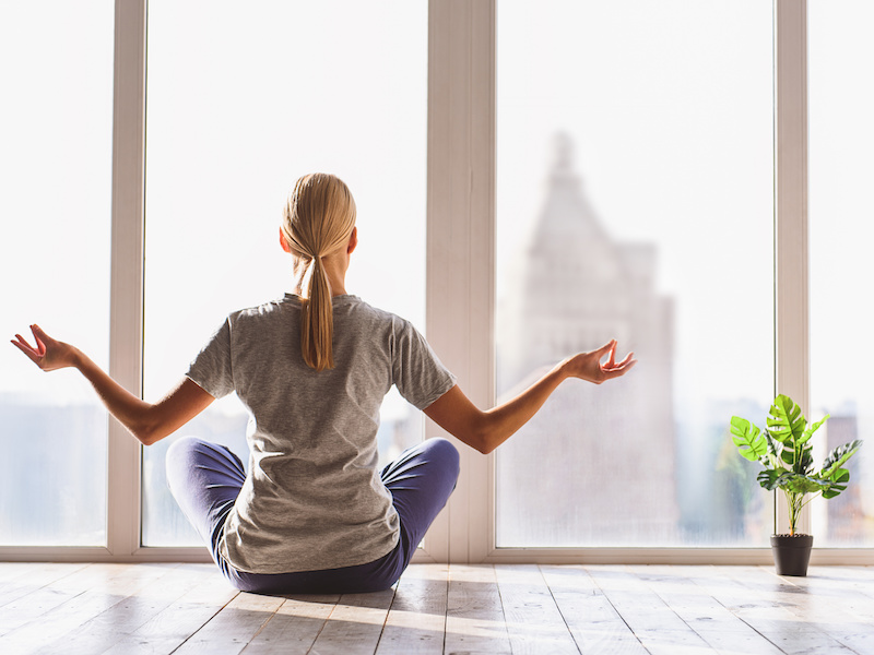 Stressed about Coronavirus? Try Yoga
