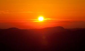 Sunset at Bald Mountain
