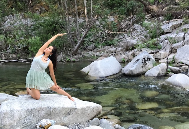 Yoga on the Yuba River