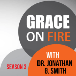 Grace on Fire podcast with Bridget Eileen discussing faith, sexuality, and being a celibate lesbian
