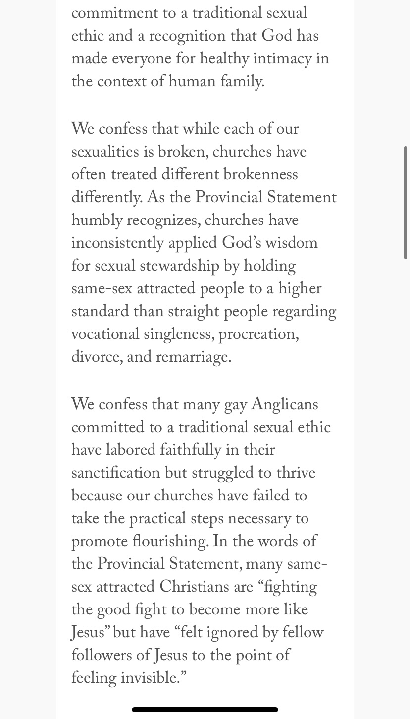 """""""Dear Gay Anglicans"""" page 3"""