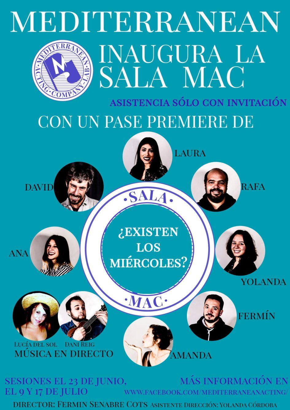 La Mediterranean Acting Company Lab. inaugura La Sala Mac