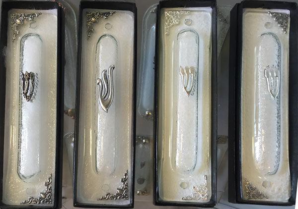סדרת בתי מזוזות חדשה  זכוכית שקופה
