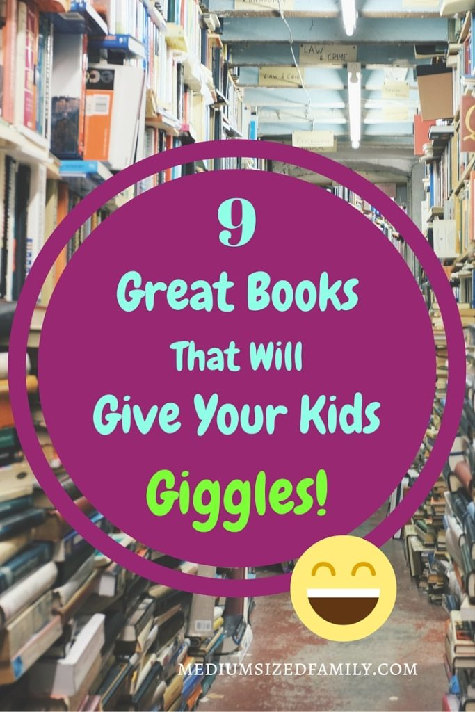 9 Great Books That Will Give Your Kid Giggles! These picture books are sure to make both the reader and the listener enjoy a good laugh together.