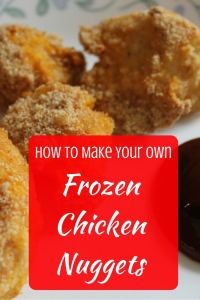 How to Make Your Own Frozen Chicken Nuggets Get this simple homemade frozen chicken nuggets recipe.