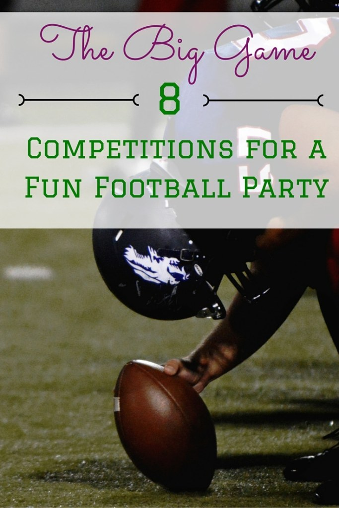 8 Competitions to Make Your Football Party Fun