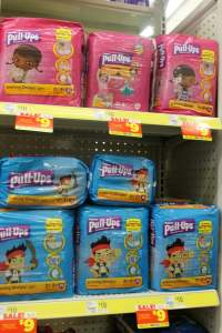 Pull Ups at Dollar General: Potty training tips
