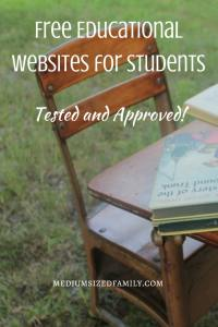 Free Educational Websites for Students. If your kids are bored and you're looking for an educational way to keep them occupied for a while, check out these tried and approved websites for learning. Best of all, they're free!