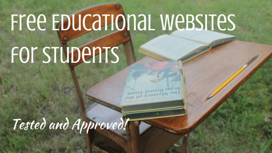 Tested and Approved List of Educational Websites That Are Free