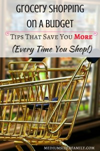 Grocery Shopping On A Budget: Tips that save you MORE every time you shop!  The tips in this article have helped me cut my grocery bill in half!