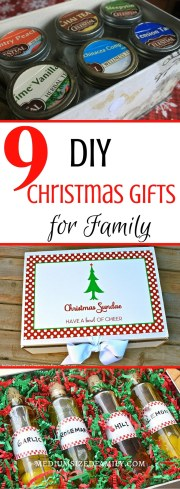 9 Simple DIY Christmas Gifts for Family
