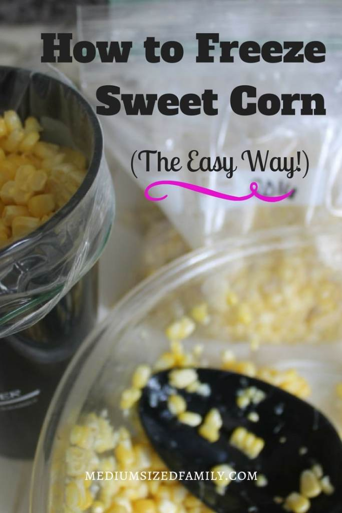 I thought figuring out how to freeze sweet corn would be a lot harder than this. This recipe has tons of tips for making it super easy!