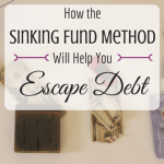 How To Use the Sinking Fund Method To Get Out of the Debt Trap