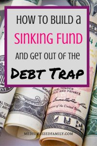 How to Build a Sinking Fund and Get Out of the Debt Trap. If you're looking for sinking funds ideas, this post is packed with info. Ideas for breaking up your categories, a spreadsheet to help you do it, and info on helping to find money to fill it.
