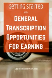 How to work in general transcription. If you've ever wondered how people get general transcription jobs, this is the post you've been looking for. Learn what the job is, who is a good match, and where you can apply here. Tons of info for earning cash from home here!