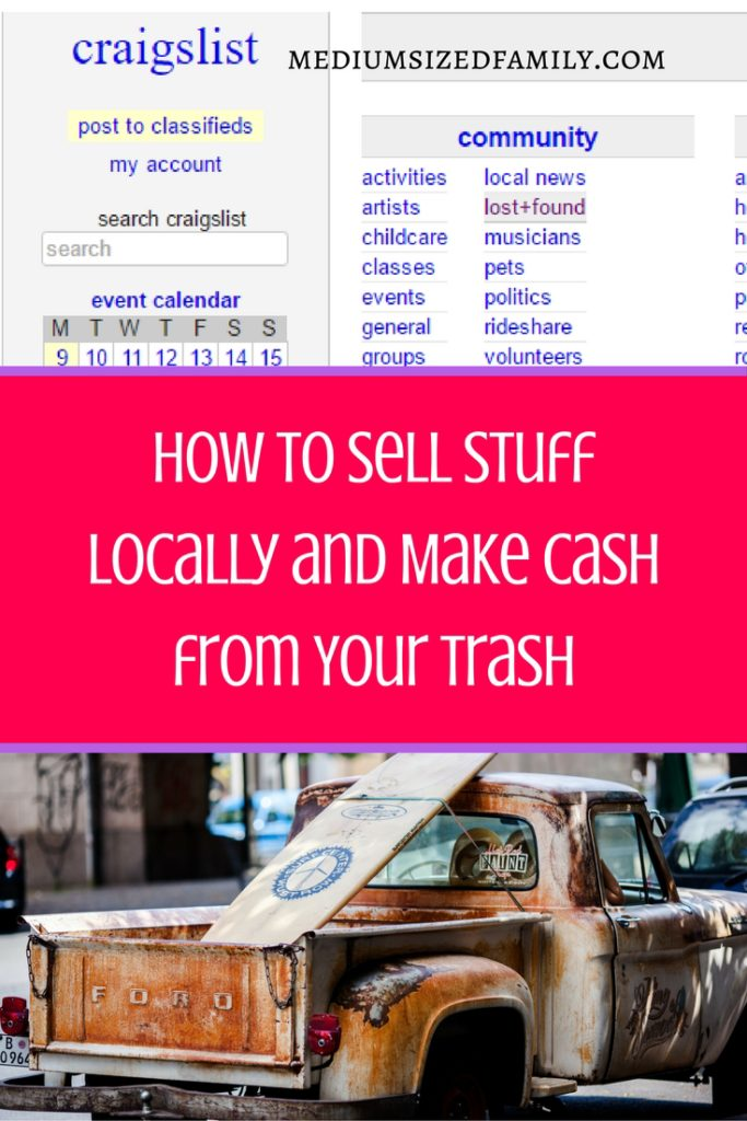 How Can I Sell Stuff Locally Online At The Best Price