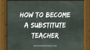 Secure Your Savings: Become a Substitute Teacher