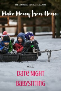 Make money from home with date night babysitting. Get babysitting ideas to help you set the date, how much you'll charge for babysitting, and more.