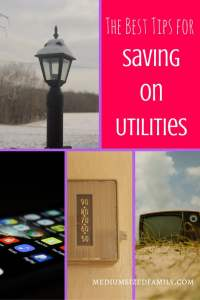 """The Best Tips for Saving on Utilities. Utilities are a bill that is never """"paid off"""", so it's important to find tips for saving on utilities. These ideas aren't hard to try if you aren't afraid to try something new."""