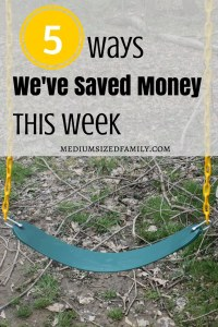 I love this series! Every week there's a new tip for saving money. I'm going to check out those cheap shoes she talks about here.