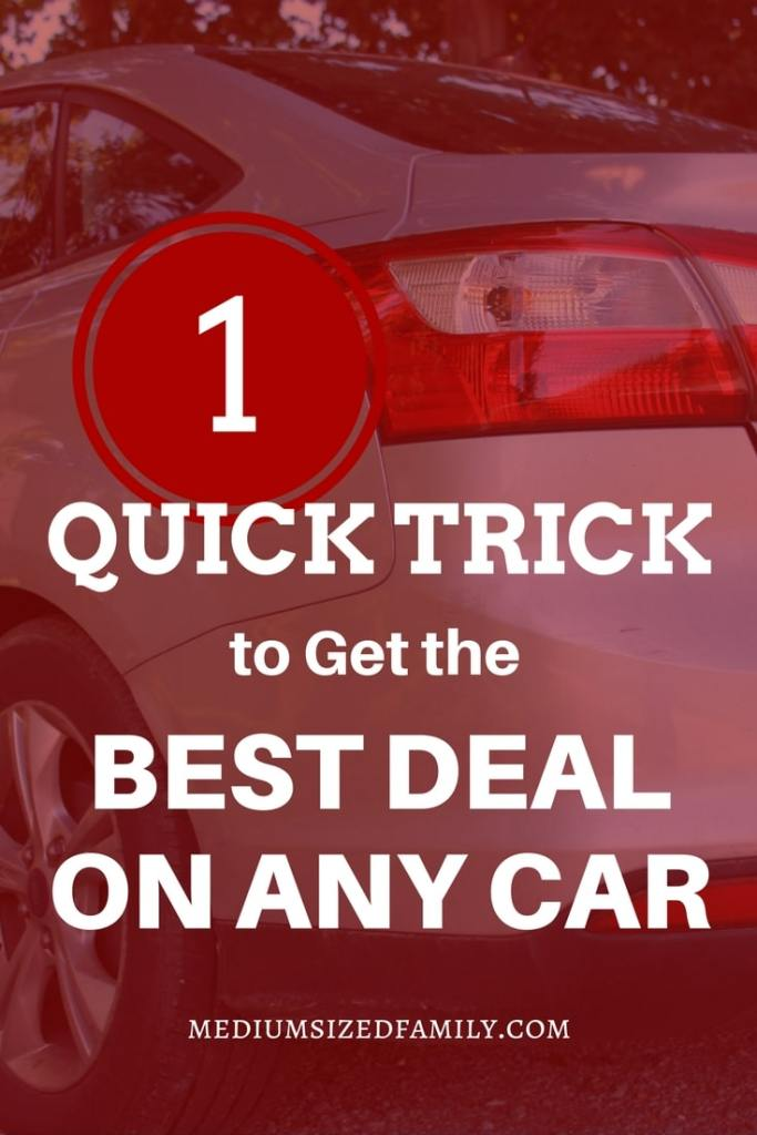This one car buying tip will help you buy the best vehicle in your price range. Why settle for an ok car? This is a huge purchase! Get the best.