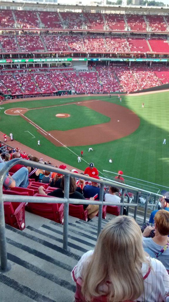 Baseball game date night!
