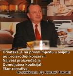 Hrvatska je na prvom mjestu u svijetu po proizvodnji konzervi. Najveći proizvođač je Domoljubna koalicija!